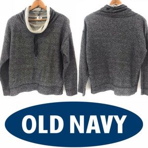 Old Navy Womens Pullover Sweater, Gray, Large